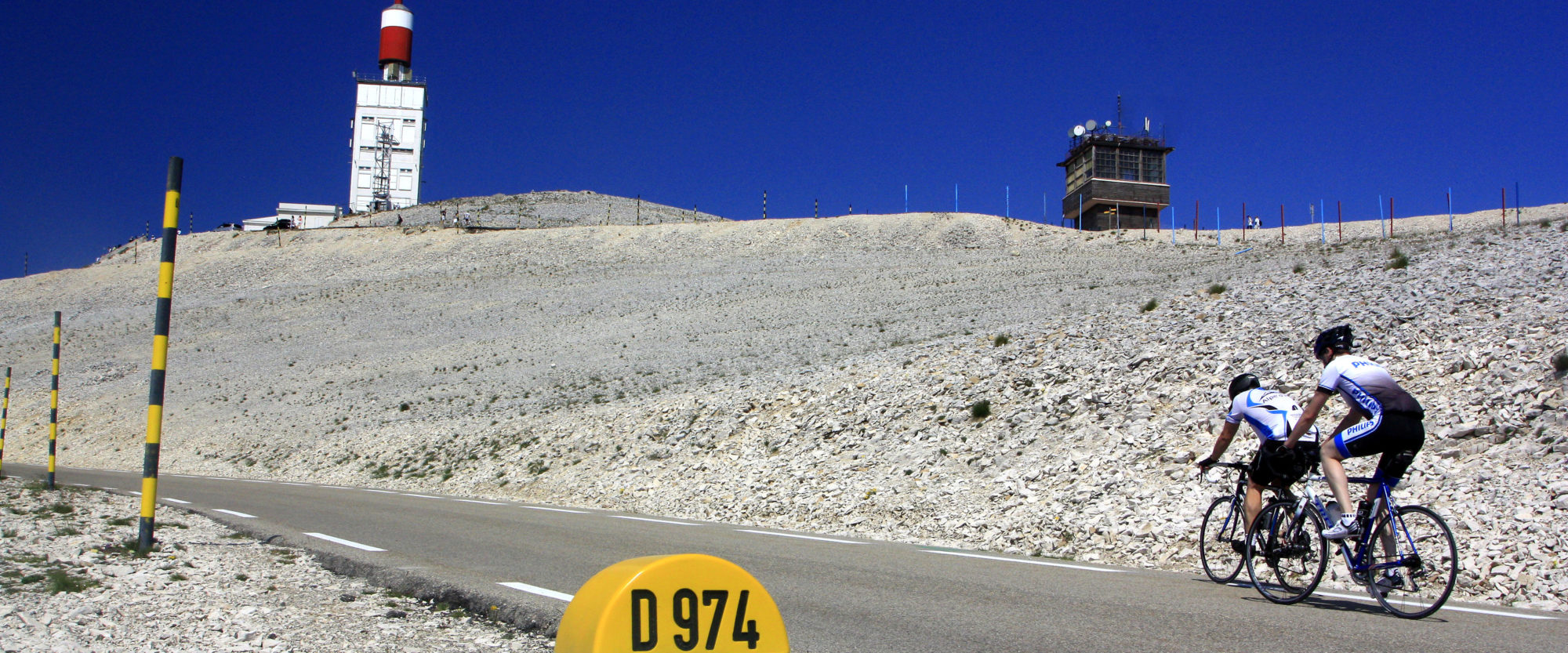 monter au Sommet du Mont Ventoux en vélo