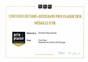 prix plaisir Bettane Desseauve
